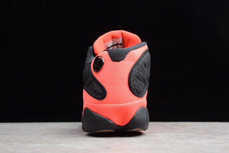 "2019 CLOT x Air Jordan 13 (XIII) Retro Low ""Infra Bred"" Black Infrared 23 AT3102-006 Shoes"