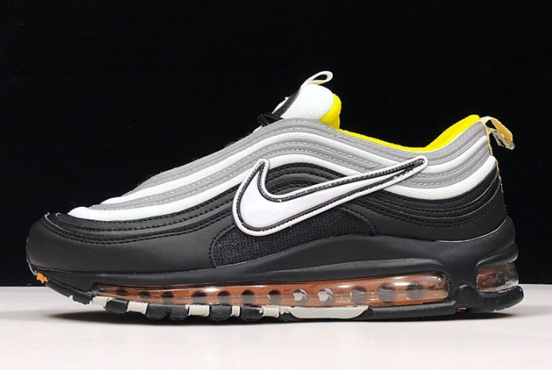 Gwang Shin x Nike Air Max 97 Amarillo Black White Yellow Shoes