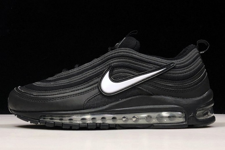 Gwang Shin x Nike Air Max 97 Black White Running Shoes