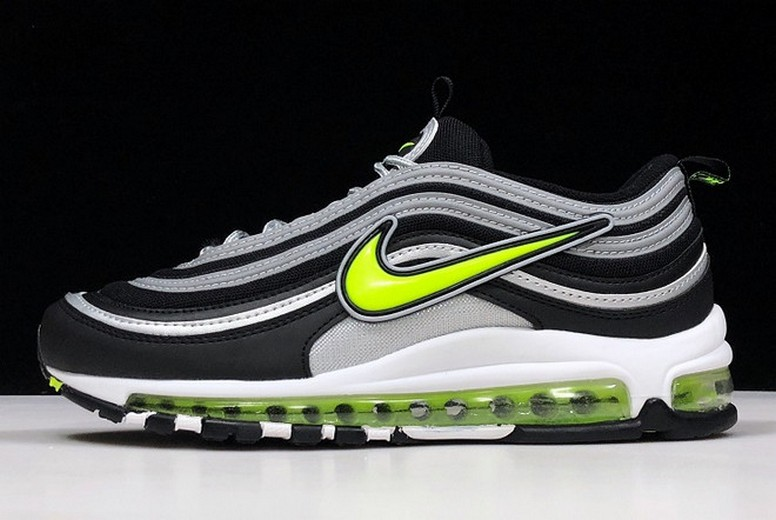 "New Gwang Shin x Nike Air Max 97 ""Japan"" Black Volt Running Shoes"