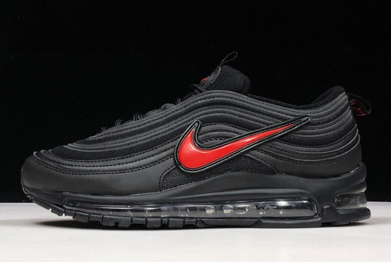 2019 New Gwang x Nike Air Max 97 Black Red Running Shoes