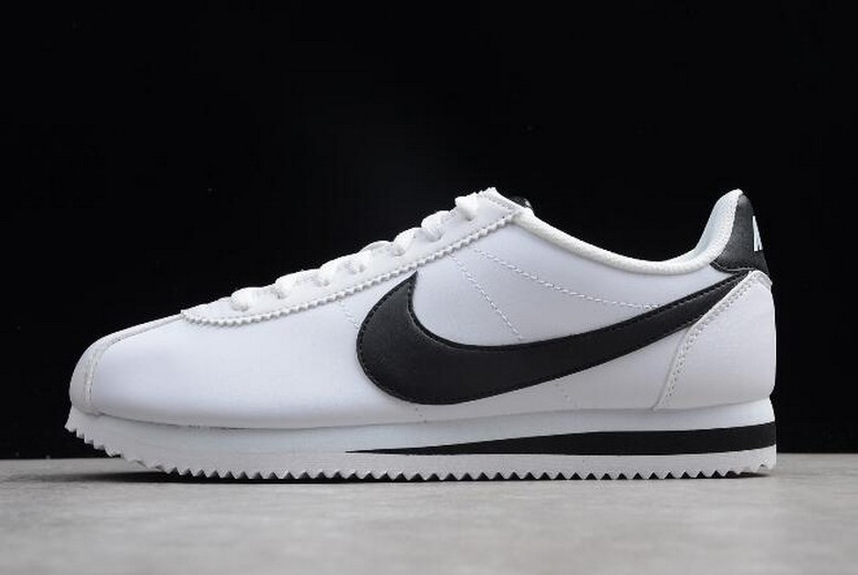 Nike Classic Cortez Leather White Black 807471-101 Shoes