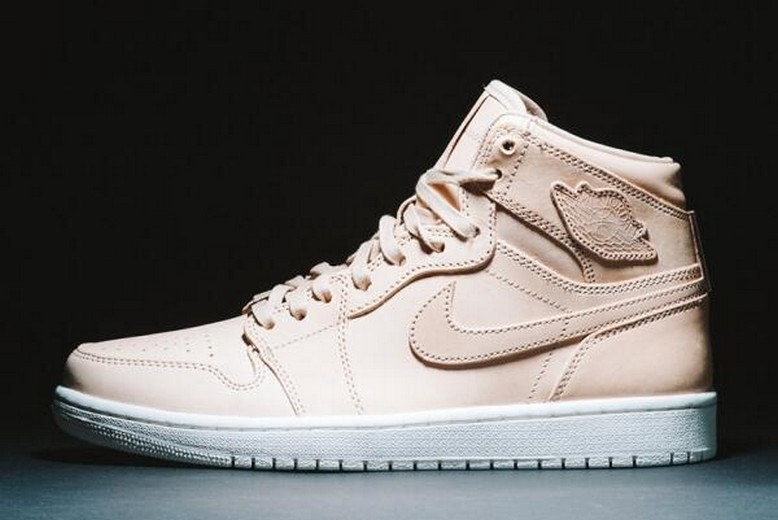 "Mens Air Jordan 1 Retro Pinnacle ""Vachetta Tan"" 705075-201 Shoes"