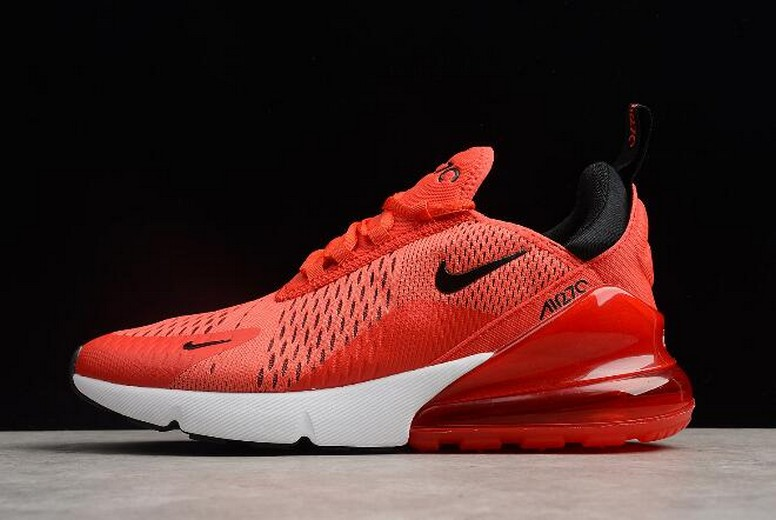 Nike Air Max 270 Habanero Red Black White Challenge Red AH8050-601 Shoes