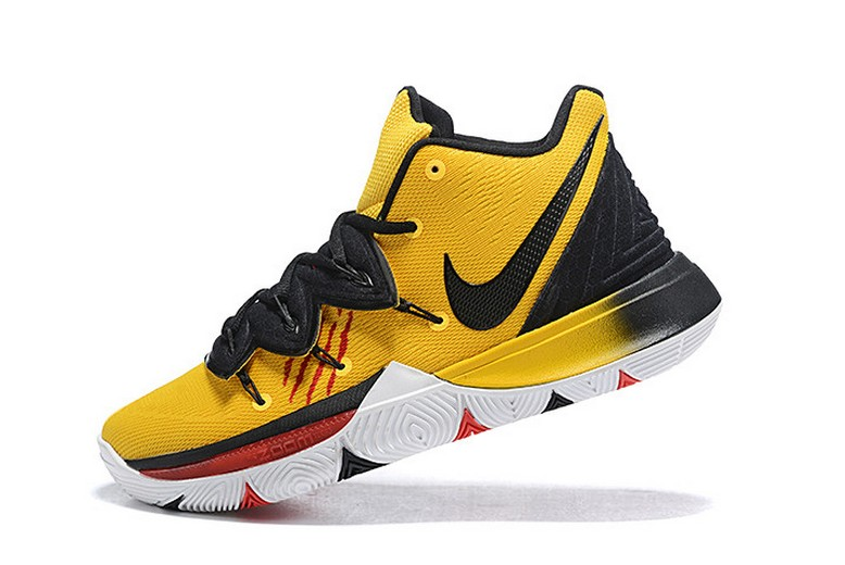 "Mens Nike Kyrie 5 ""Bruce Lee"" Mamba Mentality Tour Yellow Black Shoes"