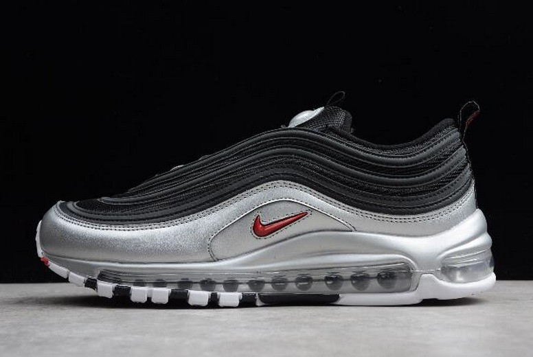 Nike Air Max 97 QS Black Silver AT5458-001 Running Shoes