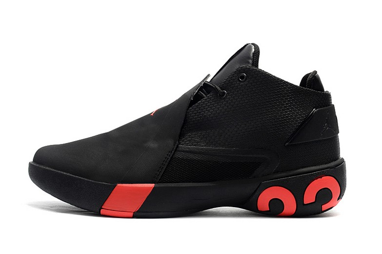 2018 Jordan Ultra Fly 3 Black Gym Red Basketball Shoes