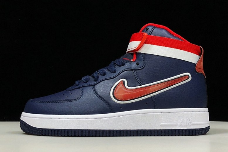 Nike Air Force 1 High Washington Wizards Sport Navy AV3938-400 Shoes