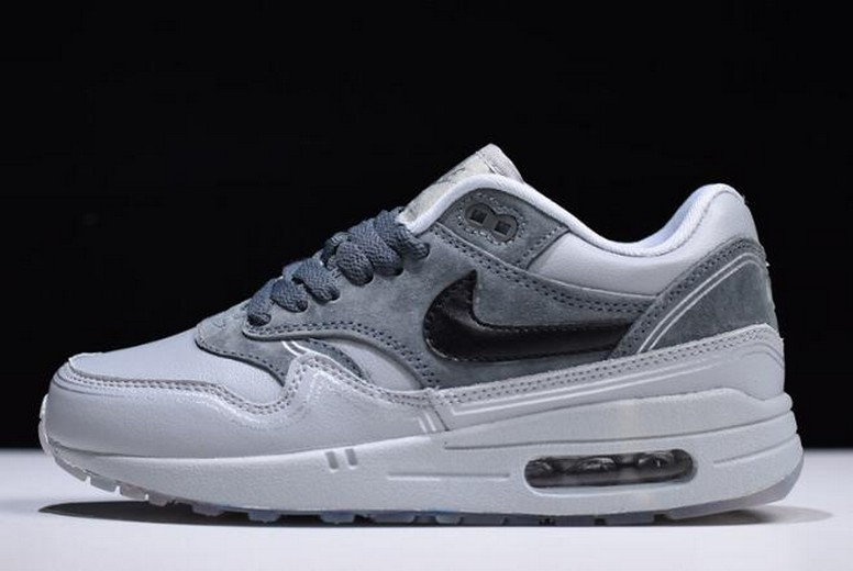 "Nike Air Max 1 ""Pompidou Center Night"" Wolf Grey Black Cool Grey AV3735-001 Shoes"