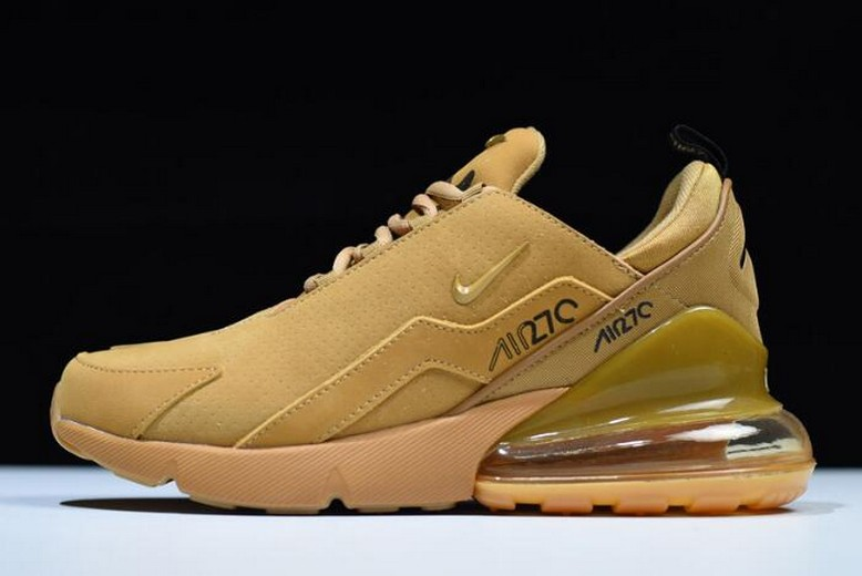 Nike Air Max 270 Flyknit Wheat AH8060-003 Running Shoes