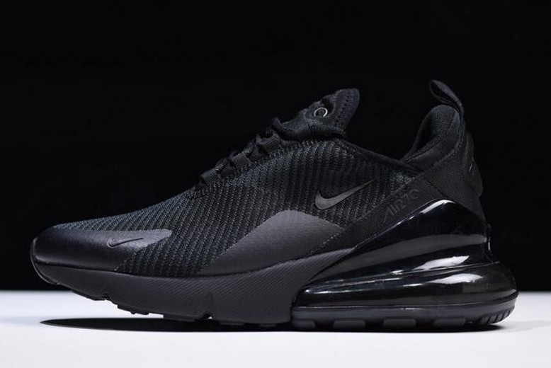 Nike Air Max 270 Black Dark Grey AH6789-006 Running Shoes