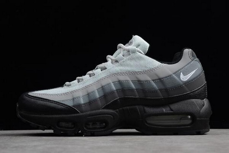 Nike Air Max 95 Essential Black Grey 749766-022 Running Shoes
