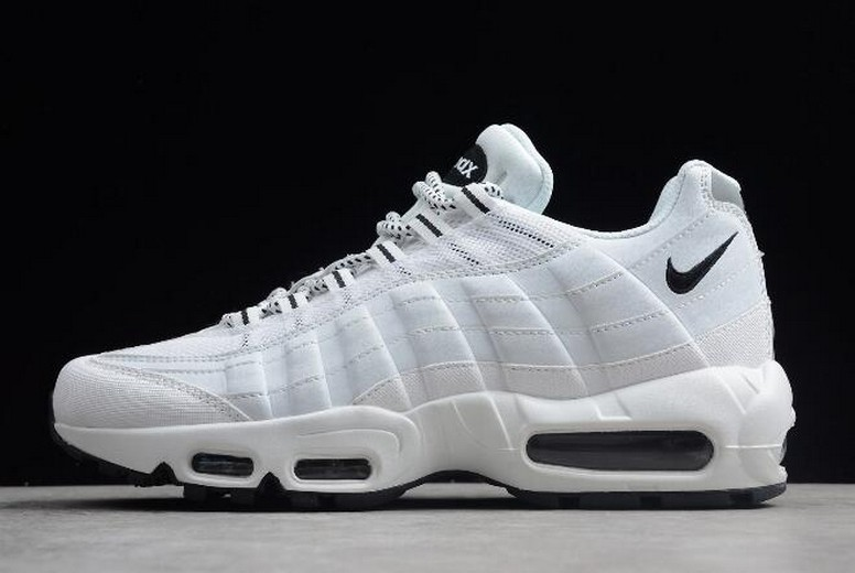Nike Air Max 95 White Black 609048-109 Running Shoes