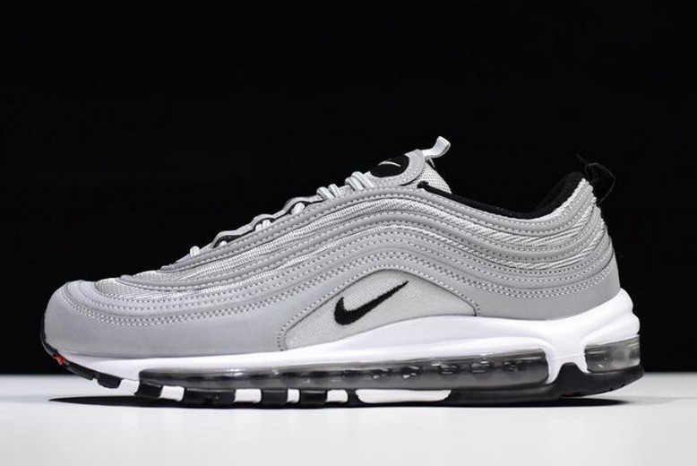 Nike Air Max 97 Premium Reflect Silver Pure Wolf Grey Black 312834-007 Shoes