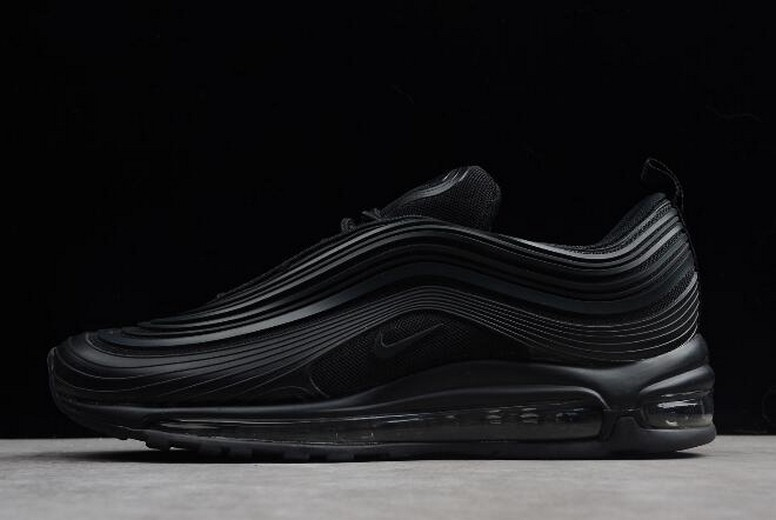 "Mens Nike Air Max 97 Ultra '17 PRM ""Triple Black"" AH7581-002 Shoes"