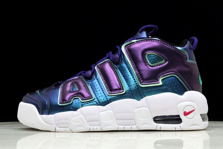 "Nike Air More Uptempo GS ""Purple Iridescent"" 922845-500 Shoes"