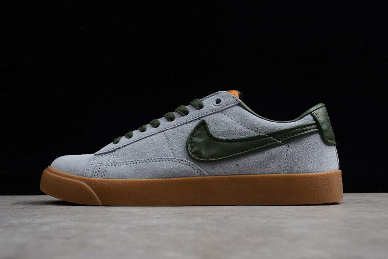 Nike Blazer Low GT Gun Smoke Black Spruce Gum Light Brown 704939-018 Shoes