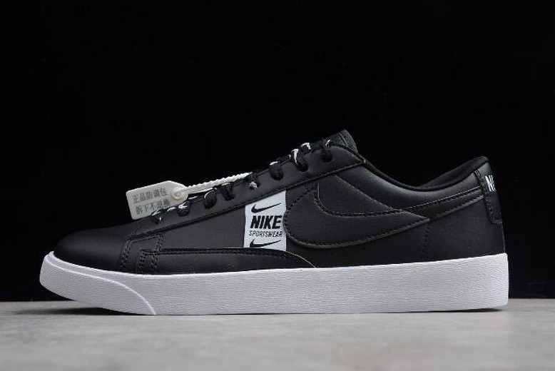 Nike Blazer Low SE Black White AV9374-010 Shoes