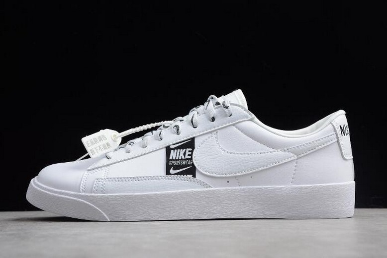 Nike Blazer Low SE White Black AV9374-100 Shoes