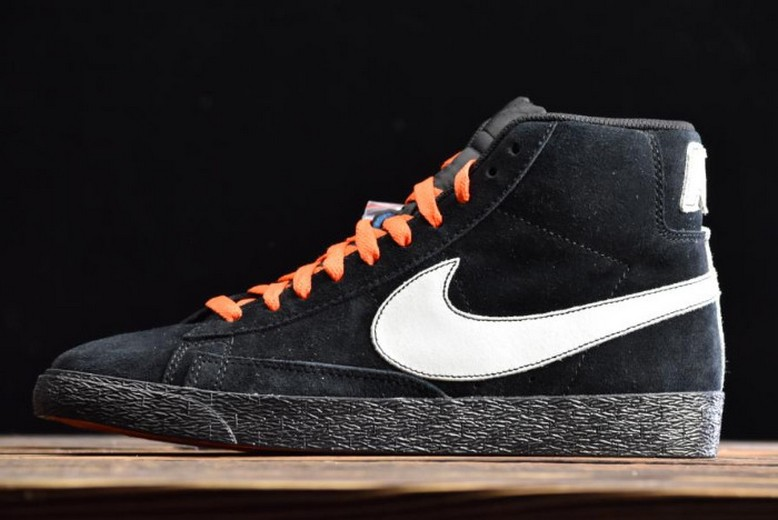 "Nike Blazer Mid ""NYC Editions"" NY vs LA Black White AT9978-001 Shoes"