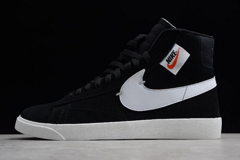 Nike Blazer Mid Rebel XX Black Summit White Oil Grey BQ4022-001 Shoes