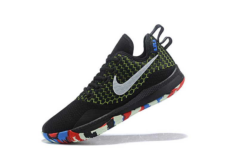 Nike LeBron Witness 3 Black Multi-Color Basketball Shoes