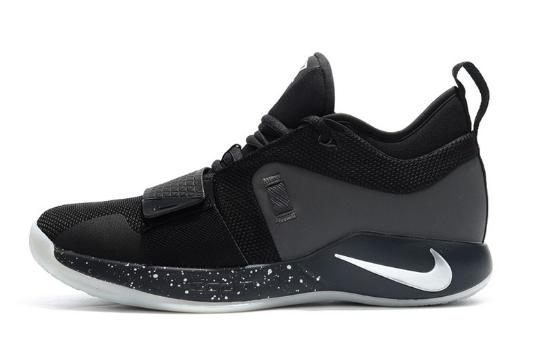 Nike PG 2.5 Black Pure Platinum Anthracite BQ8453-004 Basketball Shoes