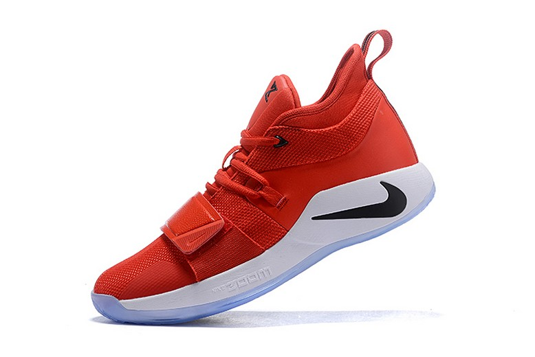 2018 Nike PG 2.5 Fresno State Gym Red Dark Obsidian White BQ8452-600 Shoes