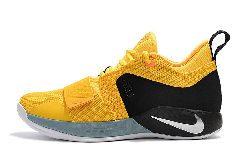 "Nike PG 2.5 ""Moon Exploration"" Amarillo Chrome Black BQ8452-700 Shoes"