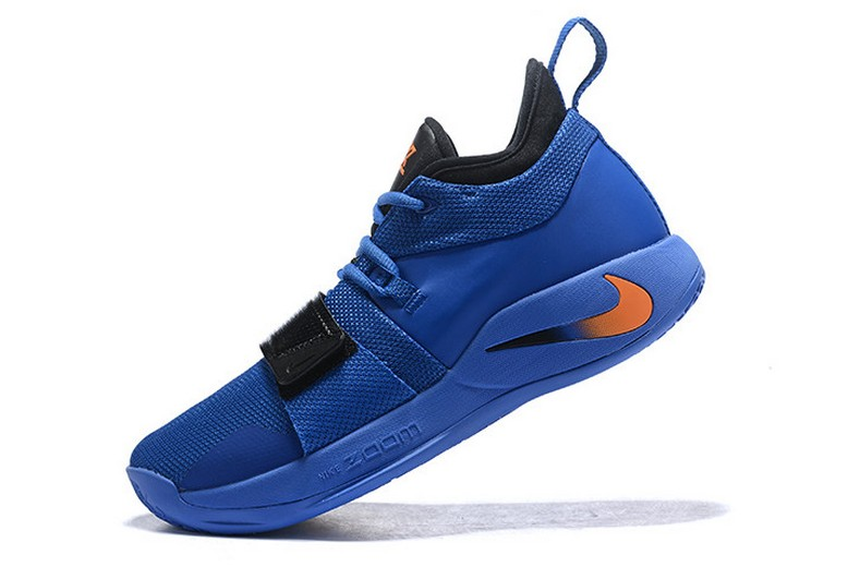 Nike PG 2.5 Royal Blue Black Orange Basketball Shoes