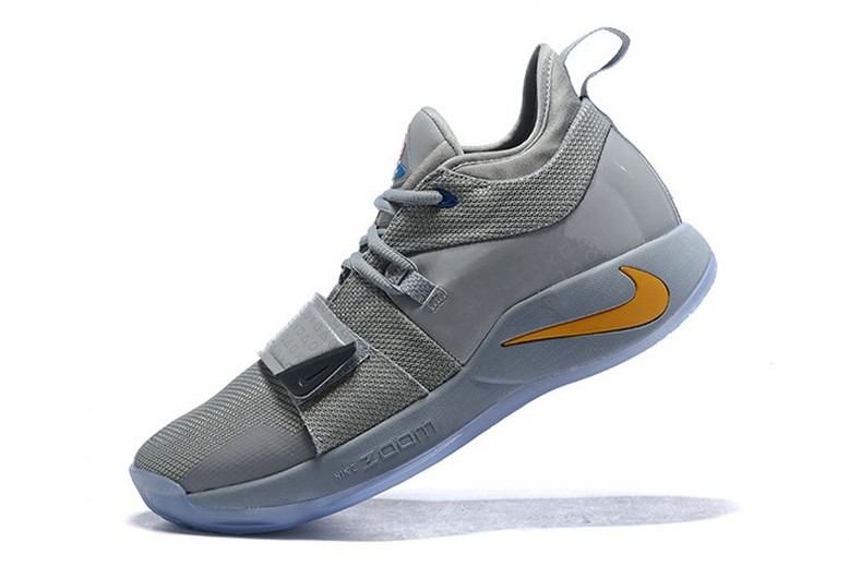 Nike PG 2.5 Wolf Grey Multi-Color PE Basketball Shoes