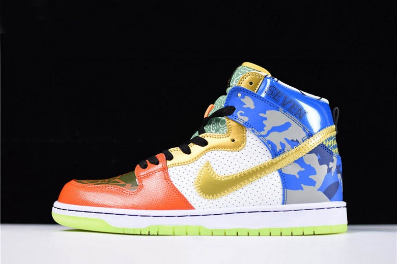 "Nike SB Dunk High ""What The Doernbecher"" Shoes"