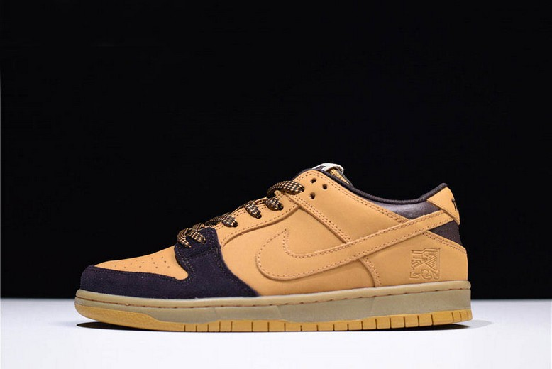 "Nike SB Dunk Low ""Lewis Marnell"" Cappuccino Wheat Bronze Shoes"
