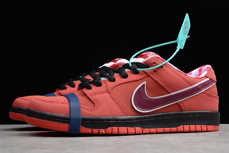 "Nike SB Dunk Low ""Lobster"" Sport Red Pink Clay 313170-661 Shoes"