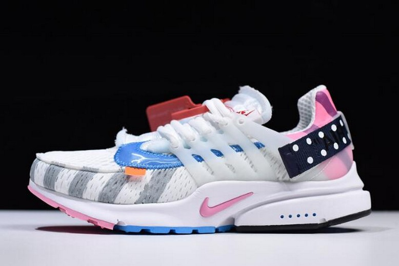 "Off White x Nike Air Presto 2.0 ""Parra"" AA3830-140 Shoes"