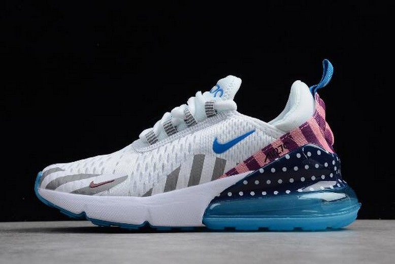 "Parra x Nike Air Max 270 ""White Multi"" White Pure Platinum AH6789-020 Shoes"