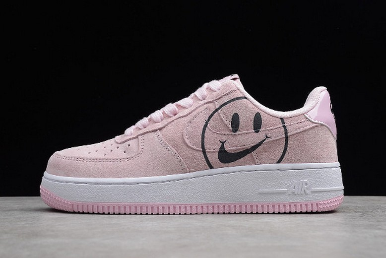 "Womens Nike Air Force 1 '07 Low ""Have a Nike Day"" Pink Foam AV0742-600 Shoes"