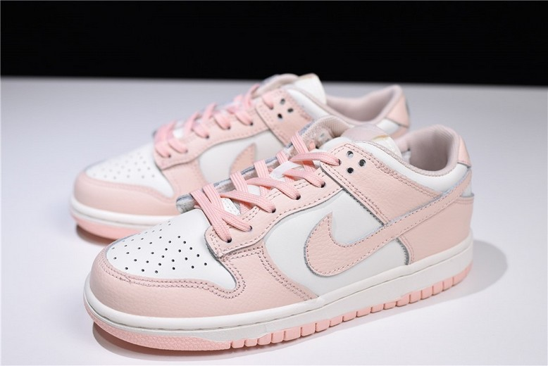 Womens Nike Wmns Dunk Low Sail Sunset Tint 311369-104 Shoes